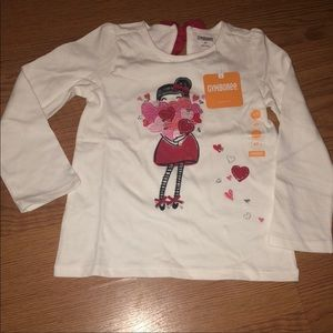 NWT Gymboree girls long sleeve top SZ.4T